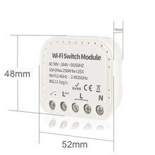 Умный выключатель Wi-Fi, двусторонний беспроводной пульт дистанционного управления, контроллер концентратора для умного дома, совместимый с ...
