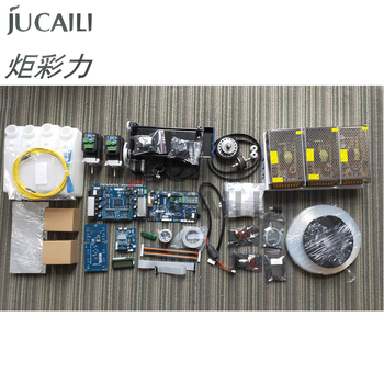Jucaili large format printer Hoson board kit for Epson dx5/dx7 convert to xp600 double head board upgrade kit whole set