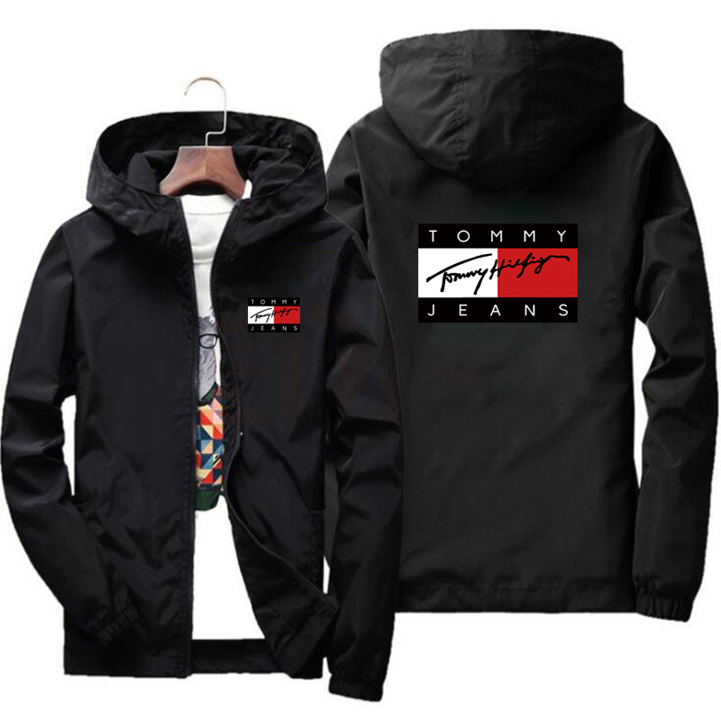New Men's Jackets, Hip-Hop Street Windbreakers, Sports, Running, New Collections For Spring and Autumn 2021, Casual