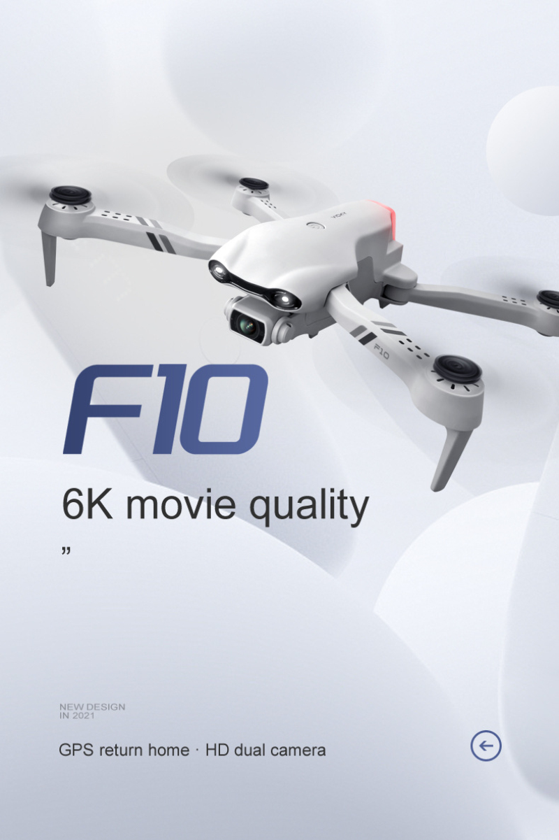 H939e17bf6c5047a59ed9c9682763f984X - Flying Toy 6K F10 Dual Camera With GPS 5G WIFI Wide Angle FPV Real-time Transmission Rc Distance 2km Professional Drone