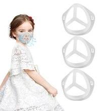 Máscara facial suporte de suporte de máscara de plástico para crianças suporte de máscara facial aumenta a respiração acessórios de máscara de espaço