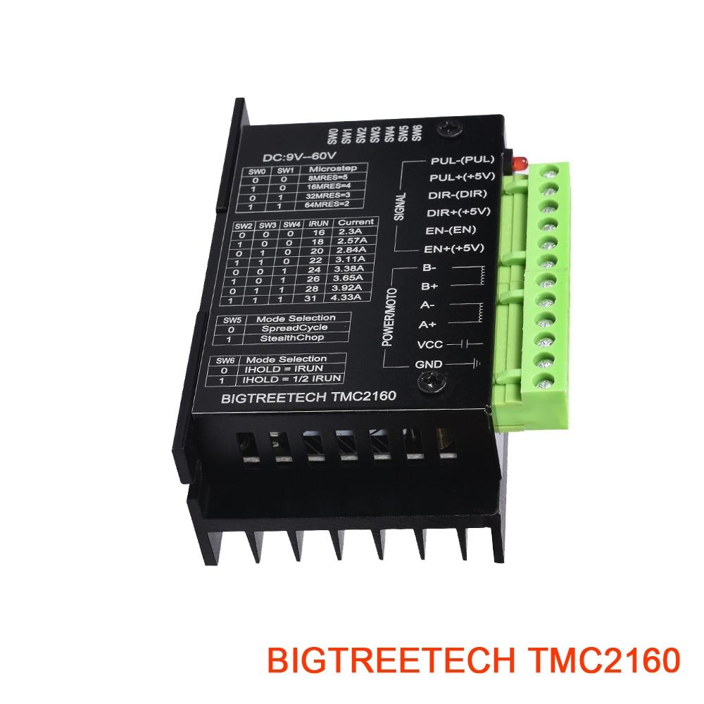 BIGTREETECH TMC2160 V1.2 High Power Stepper Driver Fit TMC5160Motion Controller 3D Printer Parts Ultra Fully Board Module CNC