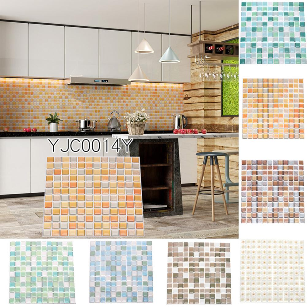 20pcs adhesive tile wall stickers decal