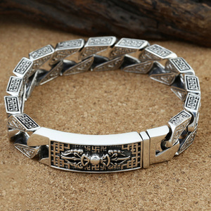 925 Sterling Silver color Brac