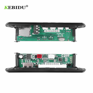 Image 4 - KEBIDU פענוח לוח מודול Bluetooth MP3 LED 12V DIY USB TF רדיו FM מודול אלחוטי Bluetooth מפענח שיא MP3 נגן