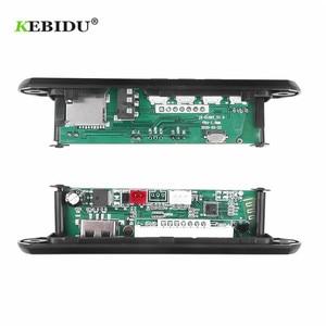Image 4 - KEBIDU Decoding Board Module Bluetooth MP3 LED 12V DIY USB TF FM Radio Module Wireless Bluetooth Decoder Record MP3 Player