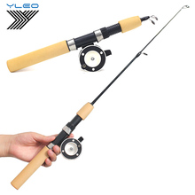 YLEO Winter Ice Fishing Rods and Reels for Carp Fly Tackle Rod Combo Pen Pole Spinning Casting Hard Pesca Hengelsp