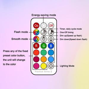 GU10 Светодиодный светильник E27 умный светильник лампа цветной Точечный светильник неоновая вывеска RGB лента с контроллером светильник Свети...