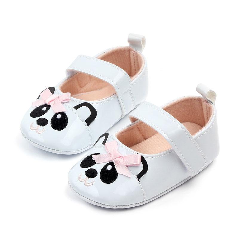 2019 Autumn Cute Baby Shoes Girls Soft Panda Shoe Baby Girl Sneakers Toddler Girl  Shoes Newborn First Walker