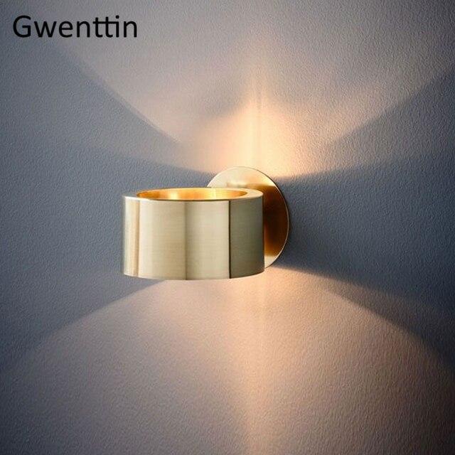Современный роскошный золотой настенный светильник, светодиодный настенный светильник, настенные светильники, зеркальный светильник s для дома, арт деко, лофт, промышленный светильник, светильник для лестницы