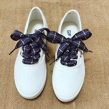 1Pair Unisex ShoeLace Cotton And Linen Shoe laces shoe lace women sneakers shoeLaces Length 60/80/100/120CM Strings