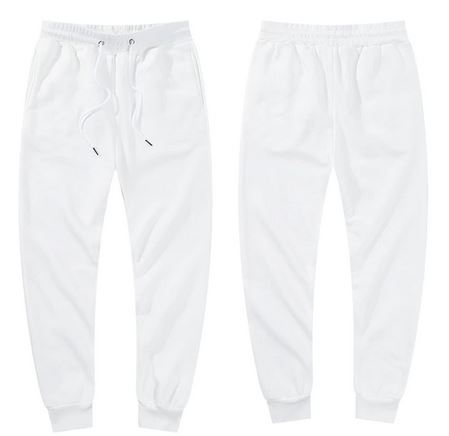 Ligentleman 2020  Joggers Winter Casual Pants Elastic Pants Men Fashion White Red Pants Fleece Men Pant