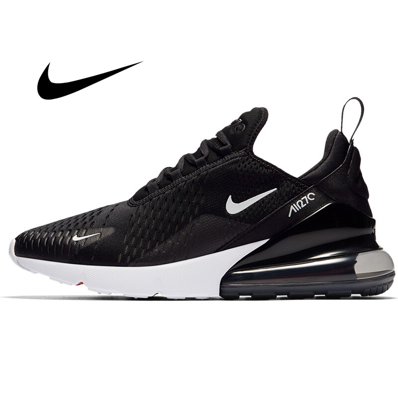 Original Athletic Nike Air Max <font><b>270</b></font> Men's Running Shoes Sneakers Outdoor Sports Lace-up Jogging Walking Designer 2019 New image