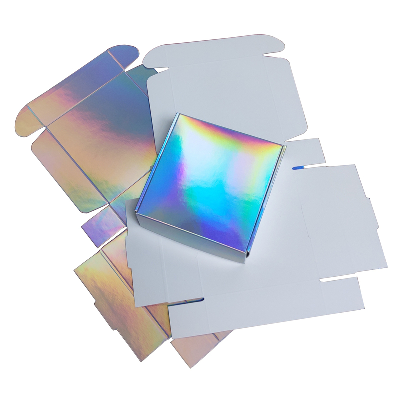 Holographic Gift Box for Party Wedding Souvenir Box 2 size available 20pcs lot