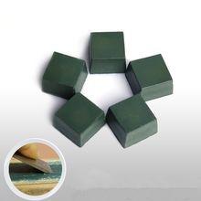 1pc zielony pasta do polerowania z tlenku glinu drobny materiał ścierny Buff polerowanie związek metalowa do noży ostrze do polerowania biżuterii szlifowania skorzystaj z
