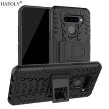 купить For LG Q60 Case Armor Protective Shell Heavy Duty Hard Rubber TPU PC Back Phone Cover for LG K12 Prime LMX525BAW Case for LG Q60 дешево