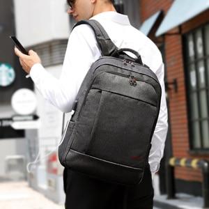 Image 5 - Tigernu אנטי גניבה USB bagpack 15.6 כדי 17 אינץ מחשב נייד תרמיל עבור גברים ילד זכר נקבת תיק בית ספר נסיעות המוצ ילה עסקי bagpack