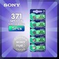 Батарейка для часов Sony 100% оригинальная AG6 371 SR920SW 920 1,55 в CX69 S21 605 SR920SW 371, 5 шт., сделано в Японии