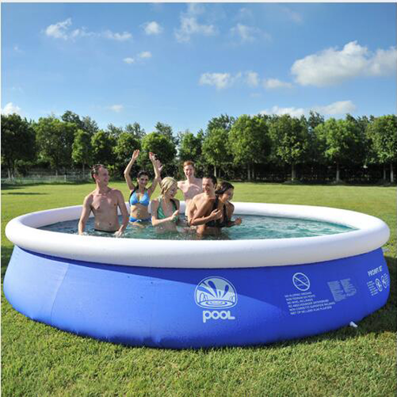 2020 Summer Water Sports Baby Kids Inflatable Swimming Pool PVC Portable Swim Family Play Pool Children Bath Tub Children Toys|Swimming Pool|   - AliExpress