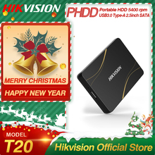 Hikvision HikStorage HDD 1TB  Portable Hard Disk DriveExternal 2TB HDD USB3.0 Type-A Mobile External Storage for PC laptop