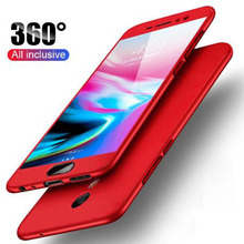 цена на 360 Degree Luxury Phone Case For meizu 6 S6 Note 6 Tempered Glass+ Protective Case Pro 7 Ultrathin Full Cover Hybrid Case