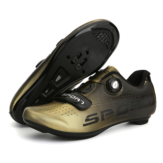 Sapatos de ciclismo de estrada colorido cor reflexiva mudando profissional mountain bike respirável bicicleta corrida auto-bloqueio sapatos 6