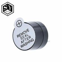 10 шт. 12 в активный зуммер Магнитный длинный непрерывный сигнал бипера сигнал тревоги 12 мм мини активные пьезоэлектрические зуммеры подходят для Arduino Diy Kit