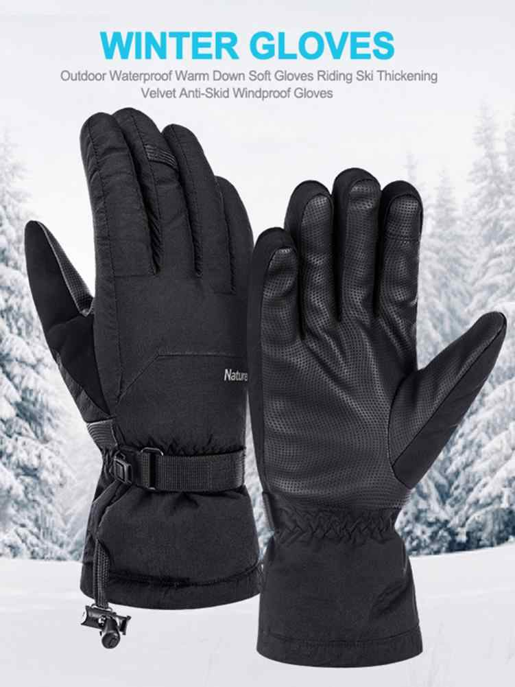 Outdoor Waterdichte Warme Soft Shell Handschoenen Rijden Ski Verdikking Plus Fluwelen Anti-slip Winddicht Handschoenen mannen Outdoor warm G