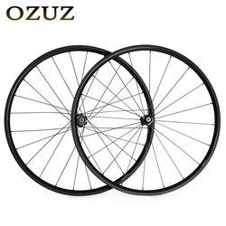 OZUZ A271SB F372SB Ruote in carbonio 700C Wheelset Della Bicicletta Della Strada 24 V Freno In Fibra di Carbonio Wheelset Clincher3K Opaca 700C coppia