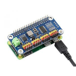 Image 3 - Waveshare Servo Driver Nón Tương Thích Với Raspberry Pi ZERO/Không W/Zero Wh/2B/3B/ 3B + 16 Kênh 12 Bit I2C Giao Diện