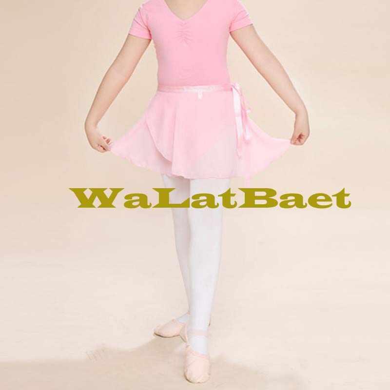 11 أنواع الألوان الباليه تنورة رقص الكبار الأطفال فتاة الشيفون الباليه تنورة ممارسة يوتار فستان رقص النساء الباليه فستان رقص