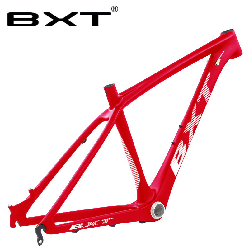 Free Shipping 26er T800 Full Carbon Mountain Bike Frame 14inch Bike MTB Frame BB92 Bicycle Frame 3K Black Disc Brake Kids Frame