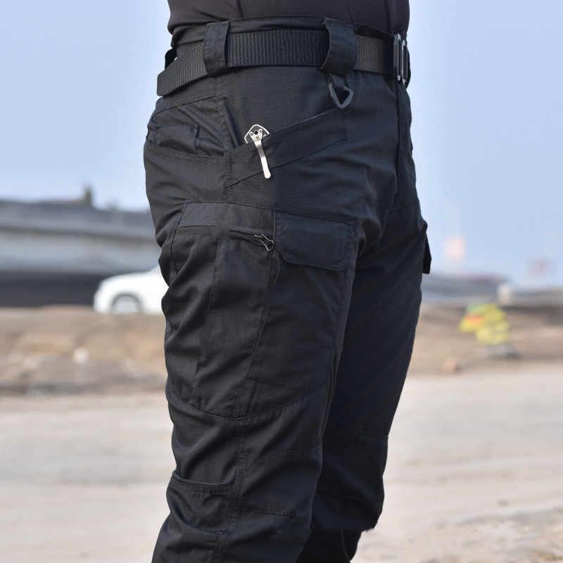 Venta Al Por Mayor De Pantalones Tacticos De Carga Militar Pantalones De Hombre Rodillera Swat Army Airsoft Ropa De Color Solido Pantalones De Combate Hunter Field Pantalones Tipo Cargo Aliexpress