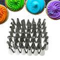 Насадки из нержавеющей стали для украшения торта, инструмент для выпечки, 48 типов