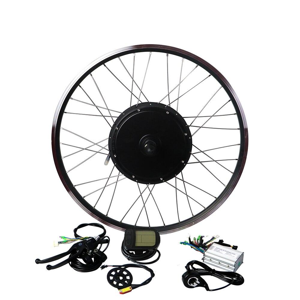 Freies verschiffen 48V1000W vorne/hinten Bürstenlosen hub motor kit Electric Bike Conversion Kit 26''27.5''28''