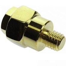 Terminal adaptador de batería de latón macizo chapado en oro para poste lateral GM, Terminal positivo o negativo