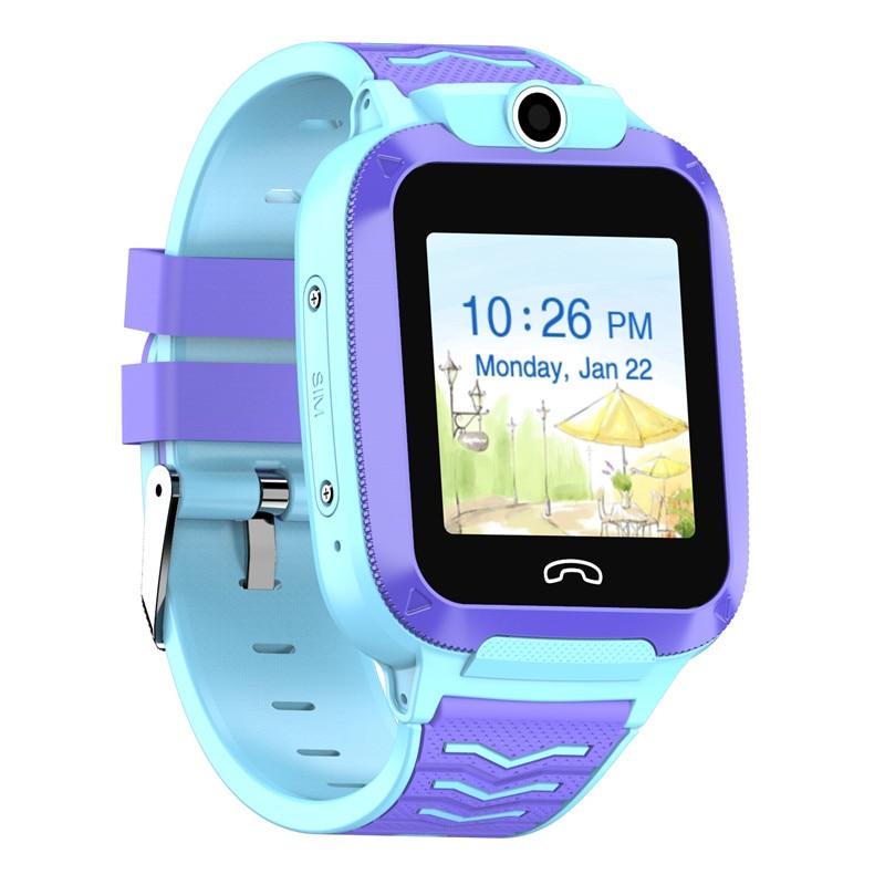 Gps telefone relógio para crianças 4g gps