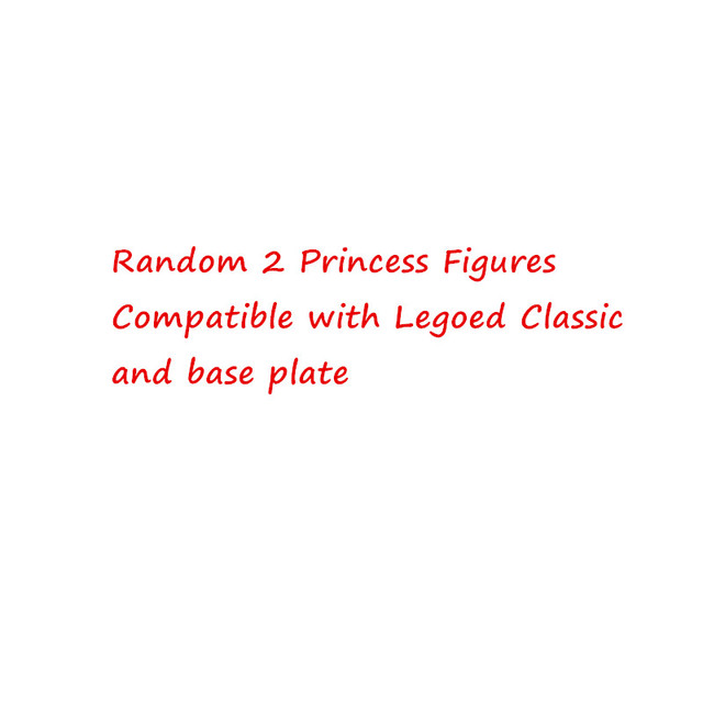 2 princess figures