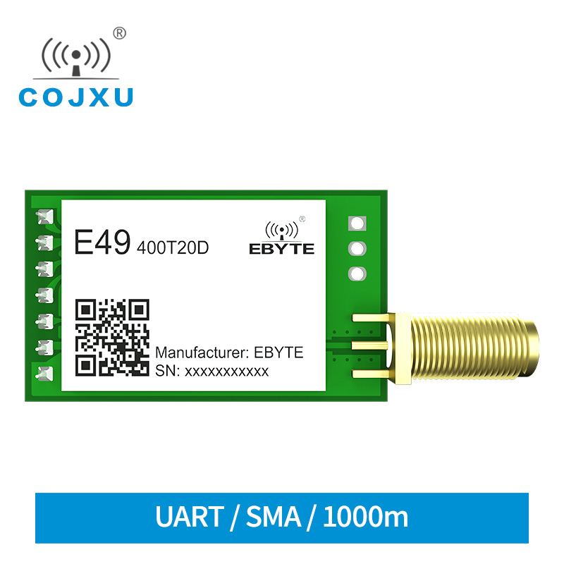 433MHz 20dBm Module GFSK Low Power DIP SMA Interface Wireless Transceiver E49-400T20D UART Serial Port Transmitter And Receiver