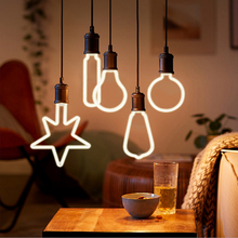 Retro Edison Light Bulb E27 Soft LED Filament Ampoule Bombilla 220V Unique Vintage Light Incandescent Bulb Warm White for Decor