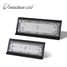 цены на Outdoor Floodlight 50W 100W Led Flood Light AC220V Spotlight IP66 Waterproof LED Street Lamp Landscape Lighting High Brightness  в интернет-магазинах