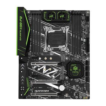 New arrival HUANANZHI X99-F8 LGA2011-3 motherboard with DUAL M.2 NVMe SSD slot M.2 WIFI slot RAM 8 DDR4 DIMMs 8 SATA3.0 ports 2