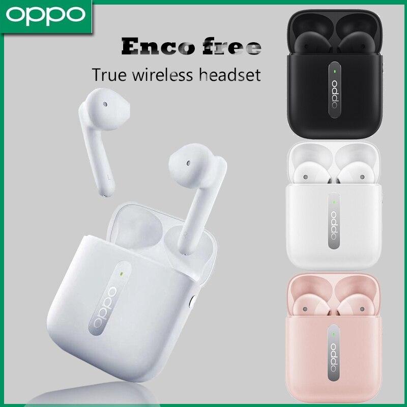 Беспроводная Bluetooth-гарнитура OPPO Enco Free, Reno3/pro, умная спортивная Гарнитура, полузакрывающая ухо