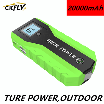 GKFLY 20000mAh Car Jump Starter Starting Device Battery Power Bank 1000A Buster Emergency Booster Car Charger Jump Start image
