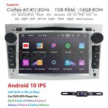 Android 10.0 4G 2 din Multimedia GPS For Opel Vauxhall Astra H G J Vectra Antara Zafira Corsa Vivaro Meriva Veda Car DVD Player(China)