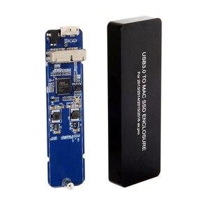CY USB 3,0 до 16 + 12 Pin Мобильный Корпус HDD кабель питания отвертка для Mac book Air Pro 2013 2014 2015 2016 SSD чехол