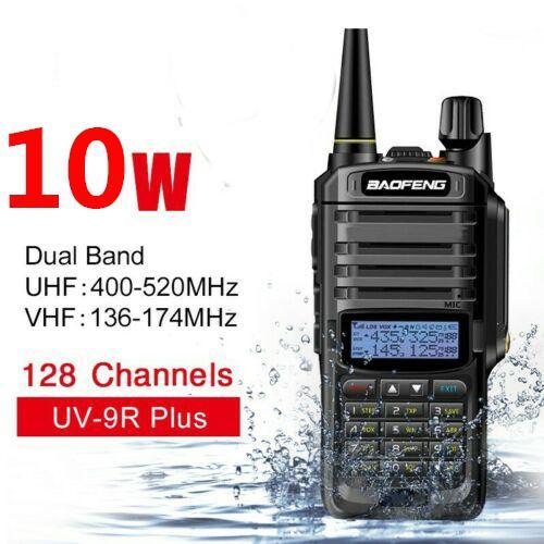 Uv-9r Plus Baofeng 10W Wireless Cb Radio Waterproof Walkie Talkie Long Range 15km 20KM Talkies For Car Hunting Amateur Radio Ham