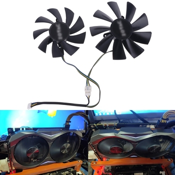 2021 New 87mm GA92S2H 100mm GAA8S2H GAA8S2U 4Pin Cooler Fan for ZOTAC GTX 1060 1070 1080 image