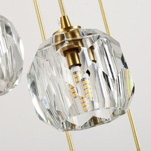 Image 5 - Fss Modern Luxury Crystal Chandelier Lighting LED Light For Living Room Dining Room Bedroom Indoor Light Fixtures Hanging Lamp