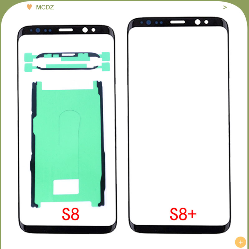 New <font><b>S8</b></font> For <font><b>Samsung</b></font> <font><b>Galaxy</b></font> <font><b>S8</b></font> S9 Plus <font><b>S8</b></font>+ S9+ Note 8 9 S10e LCD display Front touch panel screen <font><b>replacement</b></font> Outer <font><b>Glass</b></font> Lens image